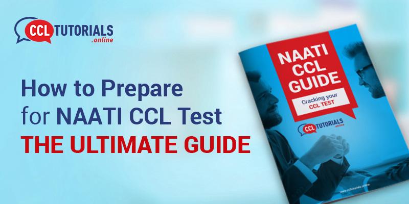 NAATI CCL Guide